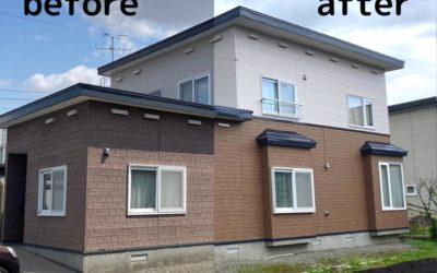 施工事例更新「外壁・屋根のリフォーム」